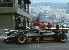 Nigel Mansell JPS Lotus 91 Monaco Grand Prix 1982 Photograph