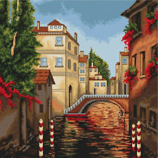 Cross stitch kit venise luca-s premium threads