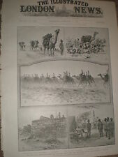 Somaliland Expedition The Sudan Camel Corps 1903  print ref X