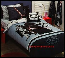 Star Wars The Force Awaken Queen Size Quilt Cover Set New