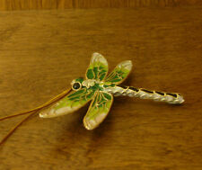 Victorian Treasures #A290-5 Green/Cream DRAGONFLY, NEW from Retail Shop, MIB