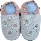shoeszoo flower light pink 12-18m S soft sole leather baby shoes