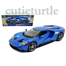 Maisto 2017 Ford GT 1:18 Diecast Model Car 31384 Blue