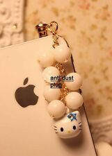 P98-2 Hello Kitty Anti Dust Plug for iPhone 4 4s & 3.5mm Earphone Jack Phone