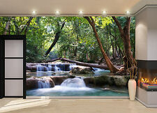 Waterfall Cascades  Wall Mural Photo Wallpaper GIANT WALL DECOR PAPER POSTER