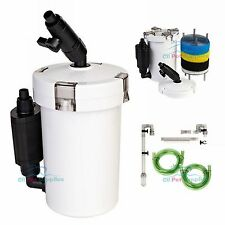 Mini External Canister Filter Table Top Nano Fresh/Salt Aquarium SUNSUN 602B