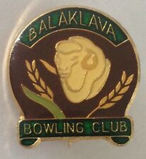 Balaklava Bowling Club Badge Sheep Design Rare Vintage (L1)