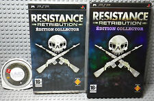 Resistance Retribution Edition Collector - Playstation PSP PAL