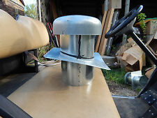 """Chimney Vent Pipe Cap, Brand New, 7 1/4"""" Inside, 12"""" Wide, 13"""" Tall, New #10"""