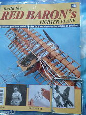 BUILD THE RED BARON'S FIGHTER PLANE FOKKER DR1  HACHETTE  ISSUE 48  NEW SEALED
