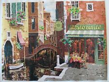 """""""Rendezvous in Venice"""" by Viktor Shvaiko Signed Numbered Ltd Ed Lithograph"""