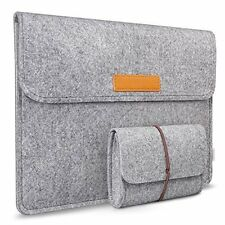 "Inateck MP1100 11"" Felt Laptop Sleeve Case MacBook Air Notebook Cover Bag Pouch"