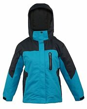 GIRLS YOUTH PULSE SKI SNOW BOARD YUKON WINTER 3IN1 JACKET NEW MEDIUM 10/12 TEAL