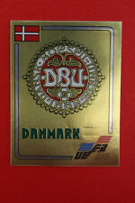 Panini Euro 84 DANMARK BADGE n 61 with back VERY GOOD CONDITION!!