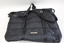 Burberry 'Abbey' Black Quilted Diaper Bag  RETAIL $850 PLUS TAX