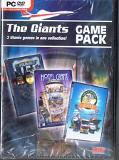 The Giants' Game Pack: Hotel/Traffic/Transport (PC, 2012, UIG, SEALED NEW)