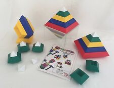 Wedgits Building Blocks 28pc Set w/ Stand Ages 3+