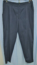 New Women's 18W Dark BLue Khaki Pants by LEE (at the waist fit), pleated front