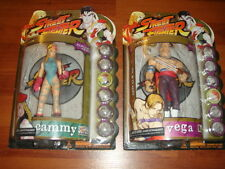 Street Fighter Action Figures 1999 Round One! Official CAPCOM RARE Cammy Vega PS