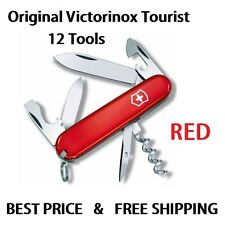 VICTORINOX TOURIST RED SWISS ARMY POCKET KNIFE 12 TOOLS 0.3603 03603 NEW IN BOX