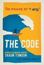 """Book, Signed by the Author, The Code : The Power of """"I Will"""" by Shaun Tomson"""