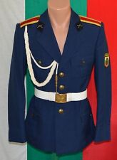 Bulgarian Communist Army CADET Military School PARADE Uniform COAT