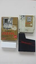 NES NINTENDO GAME  ~~ ZELDA - THE LEGEND OF ZELDA  ~~  BOXED - GOLD CART !!