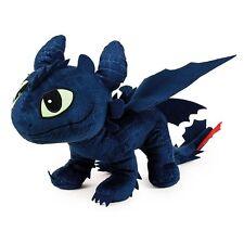 Dragons - Plüsch Figur Kuscheltier Drachen Ohnezahn Toothless 40x12x32 cm