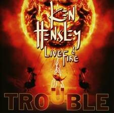 Ken Hensley & Live Wire Trouble CD 2013