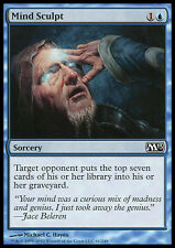 FOIL Scolpire Menti - Mind Sculpt MTG MAGIC M13 Magic 2013 Ita