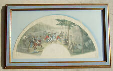 Aquatint Engraving Napoleon's Battle in Madrid Published in London c. 1810