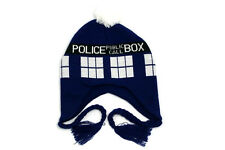 DR Doctor Who New Official Licensed TARDIS Laplander Winter HAT Police Box GIFT