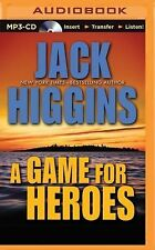 A Game for Heroes by Jack Higgins (2015, MP3 CD, Unabridged)