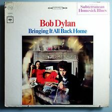 BOB DYLAN~BRINGING IT ALL BACK~RARE ORIG '65 COLUMBIA STEREO LP w/STICKER~MINT