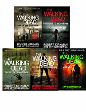 THE WALKING DEAD RISE OF THE GOVERNOR BOOK SERIES VOLUMES 1-5 SET IS LARGE TRADE