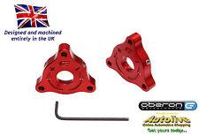 Oberon Performance Kawasaki 17mm A/F (Nut) Fork Adjusters #PRE-0002-RED
