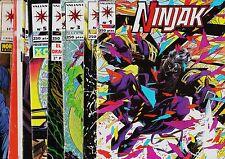 Joe Quesada: NINJAK colección completa (8 comic-book y 1 tomo) NORMA, 1995/96