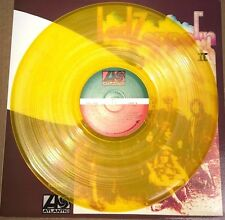 LED ZEPPELIN II 2, 180 GRAM TRANSPARENT YELLOW COLORED VINYL LP IMPORT