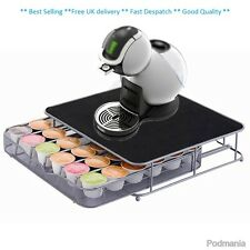 Coffee Machine Stand & Capsule Pod Holder Storage Drawer Dolce Gusto