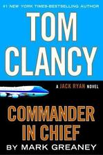 Tom Clancy Commander in Chief: A Jack Ryan Novel-ExLibrary