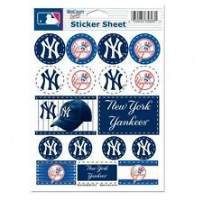 New York Yankees  5 x 7 Sticker Sheet Free Shipping