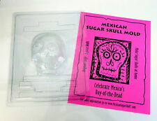 Mexican Day of the Dead Original LARGE Sugar Skull Mold™ front & back 2 pc mould