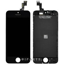 LCD Display Screen Touch Digitizer Glass Assembly for Apple iPhone 5S (Black)