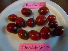 Chocolate Grape Tomato Seeds - Loads of fruit! Comb. S/H See our store!