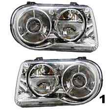05-10 Chrysler 300 L&R Headlamp Assys w/o projection (excludes HID lamps) - pair