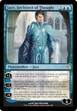 Jace, Architect of Thought LP Jace vs. Vraska MTG Magic Cards Blue Rare WB-296