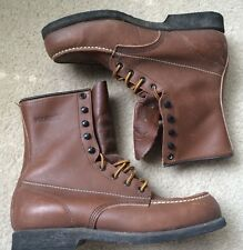 Wolverine 3899 Steel-Toe Unlined Moc-Toe Chukka Boot Men's 7