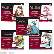 Crafters Companion Spectrum Noir ColourBlend Artists Pencils All 5 Sets of 24