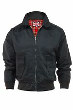 Mens Classic Vintage 1970's Bomber Harrington Jacket - Mod Retro Skin Scooter
