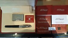 Rare S.T. Dupont St. Petersburg Pen and Lighter Set: Ligne 2 and Fountain Pen